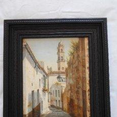 Arte: CUADRO PINTADO AL OLEO POR F. J. RETAMARO PINTOR JEREZANO. Lote 151702830