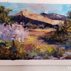 Arte - Montañas. Óleo sobre lienzo. Obra original de autor - 82320292