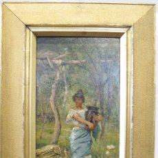 Arte: ANTONIO REYNA MANESCAU (COÍN, MÁLAGA, 1859 - ROMA, 1937). Lote 82369824
