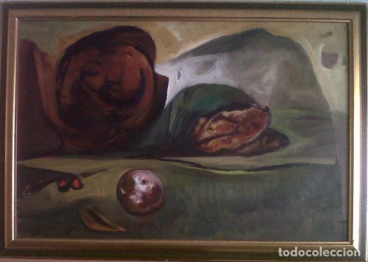 JESÚS DÍAZ FERRER - OLEO SOBRE TABLEX - 90X60 (Arte - Pintura - Pintura al Óleo Contemporánea )