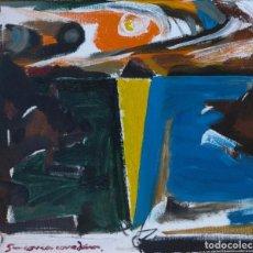 Arte: XAVIER CORREA CORREDOIRA (CORUÑA 1952). OLEO SOBRE LIENZO.. Lote 82702304