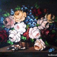 Arte: ELEGANTE BODEGÓN FLORAL. Lote 83134568