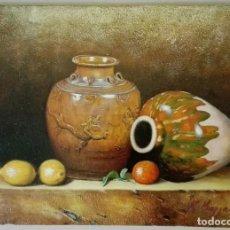 Arte: BODEGON DE JARRONES CHINOS. Lote 83307480