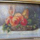 Arte: PEQUEÑO ÓLEO SOBRE TABLEX -ENMARCADO- S/F ZONA DE LEVANTE.- CON FIRMA DEL AUTOR. Lote 83366056