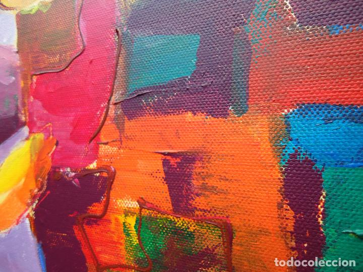 Arte: MENINA por ROSA LLORDEN óleo lienzo 40 x 30cm. - Foto 3 - 83379260