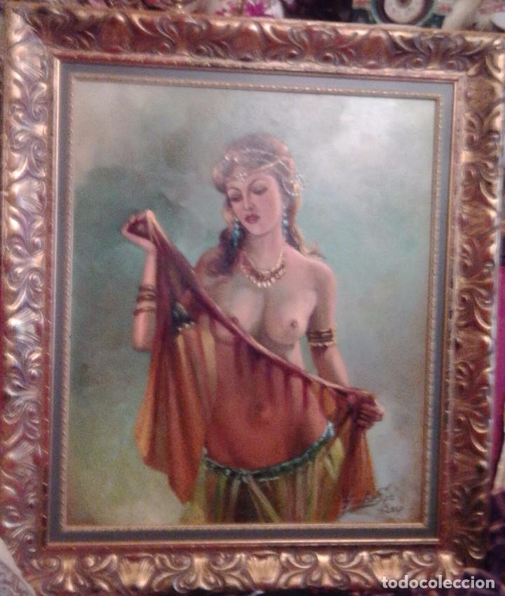 JOLOGA. DESNUDO II. LIENZO 65X54. F15. (Arte - Pintura - Pintura al Óleo Contemporánea )