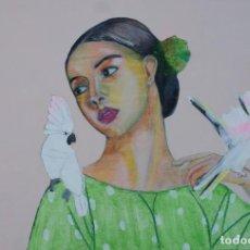 Arte: CUADRITO S/ TABLA 29,8 X 19,7 CM. Lote 83577888