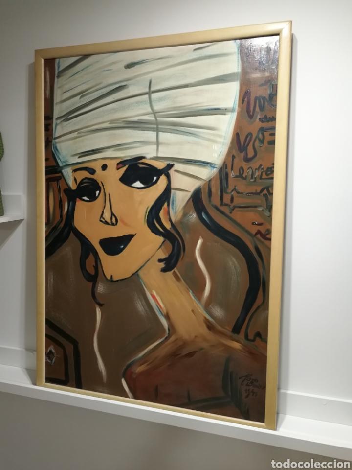 ÓLEO SOBRE LIENZO OBRA DE MARIO BEIER (Arte - Pintura - Pintura al Óleo Contemporánea )