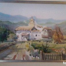 Arte: PINTURA ACUARELA FIRMADA POR SELLES. Lote 83896268