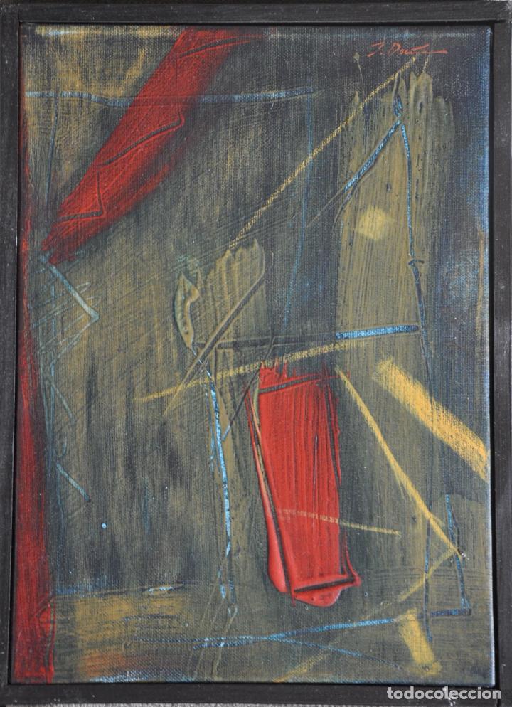 JOSE MARIA FERNANDEZ DOÑA OBRA ORIGINAL SOBRE LIENZO , MALAGA 2004 (Arte - Pintura - Pintura al Óleo Contemporánea )