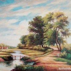 Arte: OLEO PAISAJE INGLES. Lote 83948796