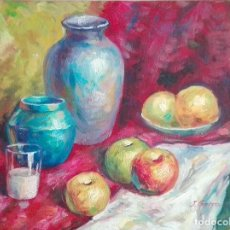 Arte: BODEGON IMPRESIONISTA Y COLORISTA. Lote 83955928