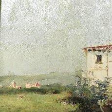 Kunst - Óleo sobre tabla del siglo XIX. Corchón Diaqué - 84520828