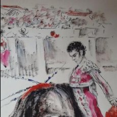 Arte: JOSE TOMAS . JOSE LOPEZ CANITO. Lote 84587504