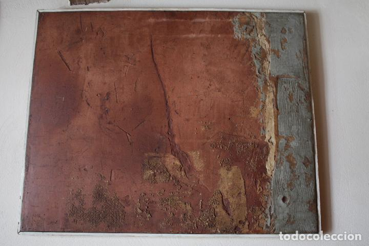 ÓLEO SOBRE TABLEX DE ÁNGEL ESTEBAN MATURÉN (ZARAGOZA 1949- TARAZONA 2005). MEDIDAS: 91.5 X 73. (Arte - Pintura - Pintura al Óleo Contemporánea )