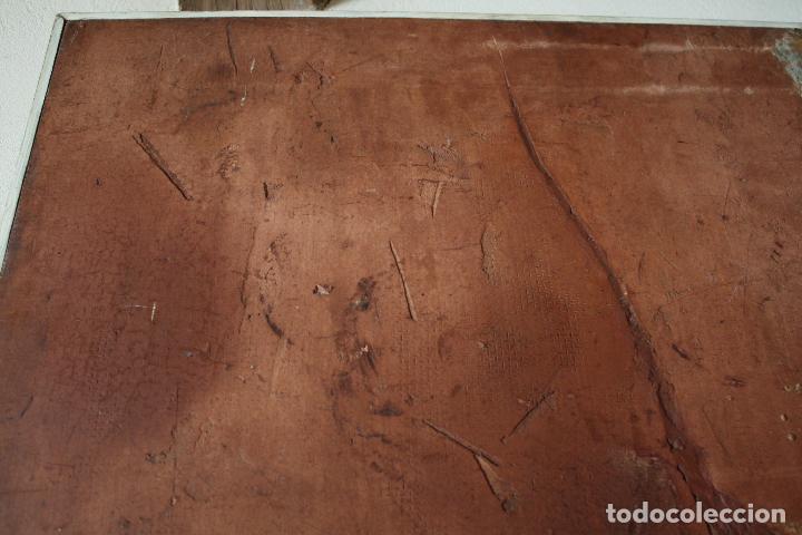 Arte: ÓLEO SOBRE TABLEX DE ÁNGEL ESTEBAN MATURÉN (ZARAGOZA 1949- TARAZONA 2005). MEDIDAS: 91.5 X 73. - Foto 2 - 84711692