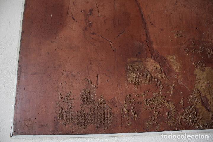 Arte: ÓLEO SOBRE TABLEX DE ÁNGEL ESTEBAN MATURÉN (ZARAGOZA 1949- TARAZONA 2005). MEDIDAS: 91.5 X 73. - Foto 4 - 84711692