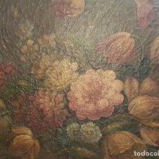 Arte: PINTURA OLEO SOBRE LIENZO . MUY ANTIGUO. Lote 84781916