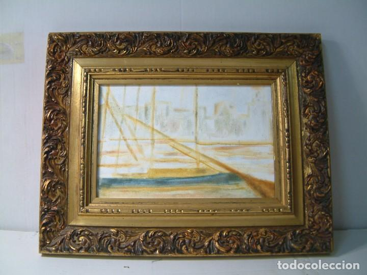 marco para foto o para pintura -dorado madera- - Comprar Pintura al ...