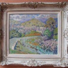 Kunst - CUADRO OLEO SOBRE LIENZO, ENMARCADO, SERI (MEXICO) FIRMADO Y FECHADO 80X70 CM CON MARCO - 99363831