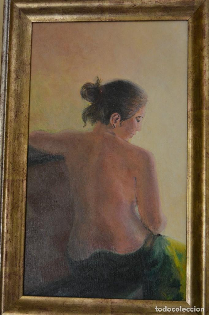 DESNUDO ÓLEO SOBRE LIENZO (Arte - Pintura - Pintura al Óleo Contemporánea )