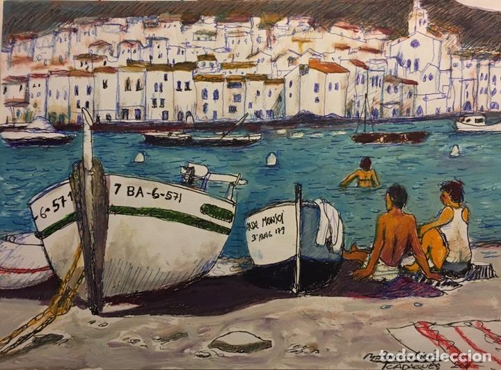 CADAQUES DE AGUILAR MORÉ (Arte - Pintura - Pintura al Óleo Contemporánea )