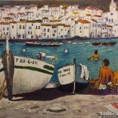 Arte: CADAQUES DE AGUILAR MORÉ. Lote 85146610