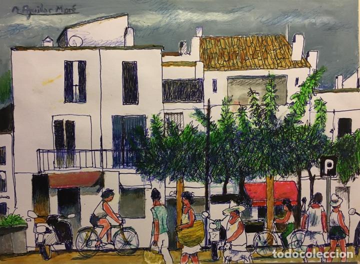 CADAQUÉS DE AGUILAR MORÉ (Arte - Pintura - Pintura al Óleo Contemporánea )