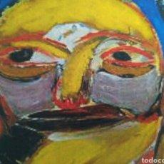 Arte: OLEO/TABLA TITULADO CARA 2. 35X35 CM. FERNANDO ROSCUBAS. 1990.. Lote 85264519