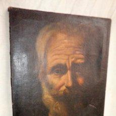 Arte: SIMON EL ZELOTE - OLEO SOBRE LIENZO SIGLO XVIII - TENEBRISTA.. Lote 85333576