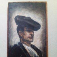 Arte: ANTIGUA PINTURA AL OLEO SOBRE TABLA. Lote 85451096
