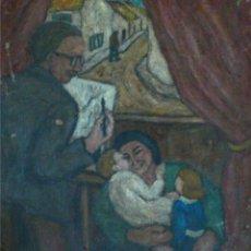 Arte: HENRI BOULAGE PINTOR POST IMPRESIONISTA MONMARTRE PARIS FRANCE FRANCIA OLEO. Lote 85465440
