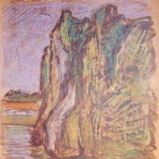 Arte: HENRI BOULAGE PINTOR POST IMPRESIONISTA MONMARTRE PARIS FRANCE FRANCIA ACUARELA DEUX SEVRES. Lote 85494916