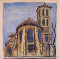 Arte: HENRI BOULAGE PINTOR POST IMPRESIONISTA MONMARTRE PARIS FRANCE FRANCIA OLEO. Lote 85498124