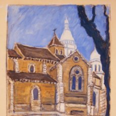 Arte: HENRI BOULAGE PINTOR POST IMPRESIONISTA MONMARTRE PARIS FRANCE FRANCIA OLEO. Lote 85498412