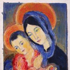 Arte: HENRI BOULAGE PINTOR POST IMPRESIONISTA MONMARTRE PARIS FRANCE FRANCIA OLEO. Lote 85500484
