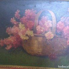 Arte: BODEGÓN DE FLORES FIMADO CAMOYANO.. Lote 85553032