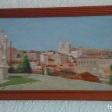 Arte: CUADRO OLEO SOBRE LIENZO CON FIRMA DEL PINTOR DE 1985 . Lote 85660532