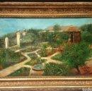 Arte: REUS MOYA, RAFAEL (1880-1929) ALICANTE. OLEO SOBRE LIENZO, ENMARCADO 58X41CM. Lote 85674714