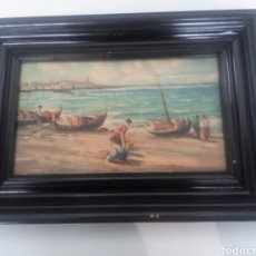 Arte: ÓLEO SOBRE TABLA SIGLO XVIII . Lote 85788956