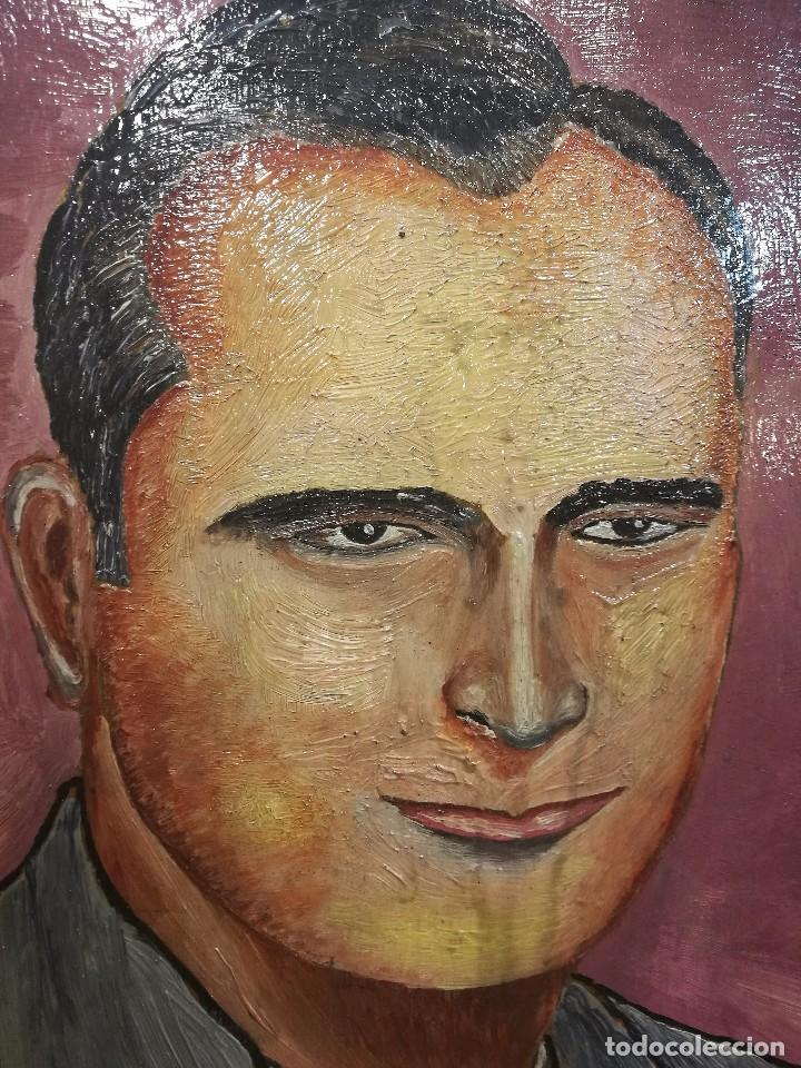 Arte: Oleo sobre tabla.autor:el ilustre bilbaino medico e investigador juan azpitarte anta - Foto 3 - 86038696