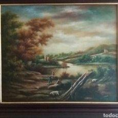 Arte: PRECIOSO CUADRO, PAISAJE, FIRMADO. Lote 86141652