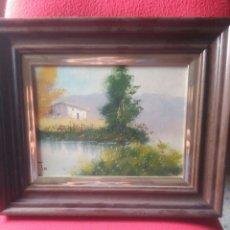 Kunst - Pintura al óleo,paisaje - 86387988