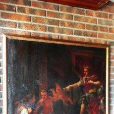 Arte: CUADRO GRAN DIMENSIÓN ESCUELA FLAMENCA SIGLO XVII. TEMA BÍBLICO.. Lote 86483692