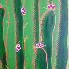 Arte: CARDÓN OBRA DE LA PINTORA CANARIA RUTH CALDERÍN (LAS PALMAS DE GRAN CANARIA). Lote 86497612