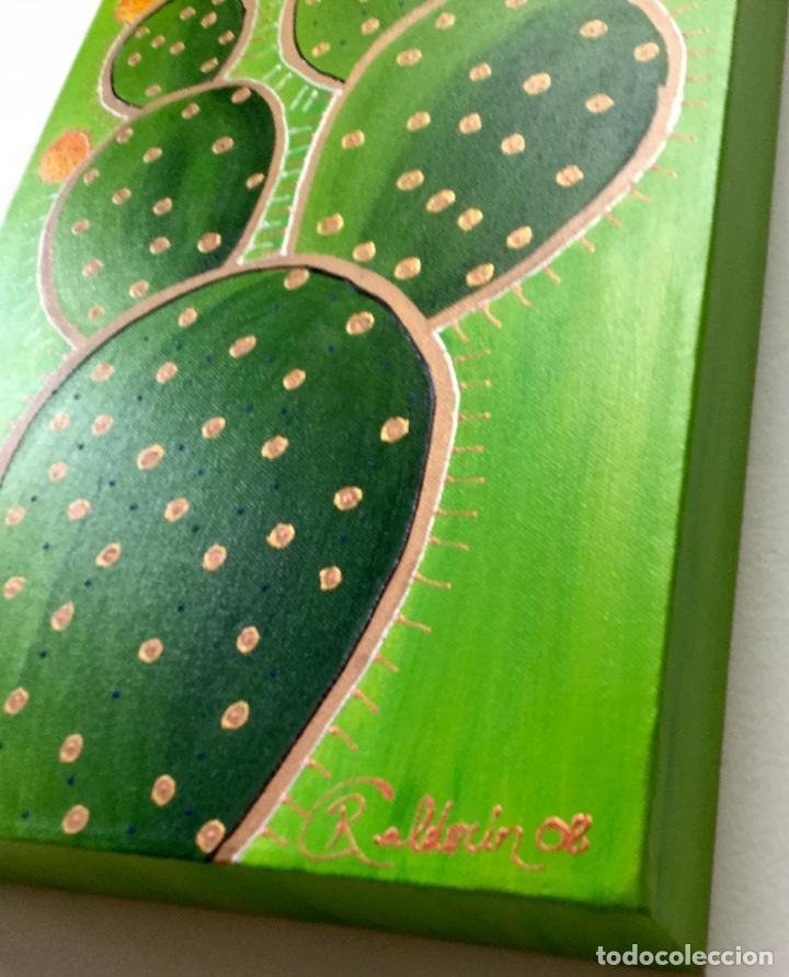 Arte: Pintura acrílica Tuneras y Cardones - Foto 2 - 86497884