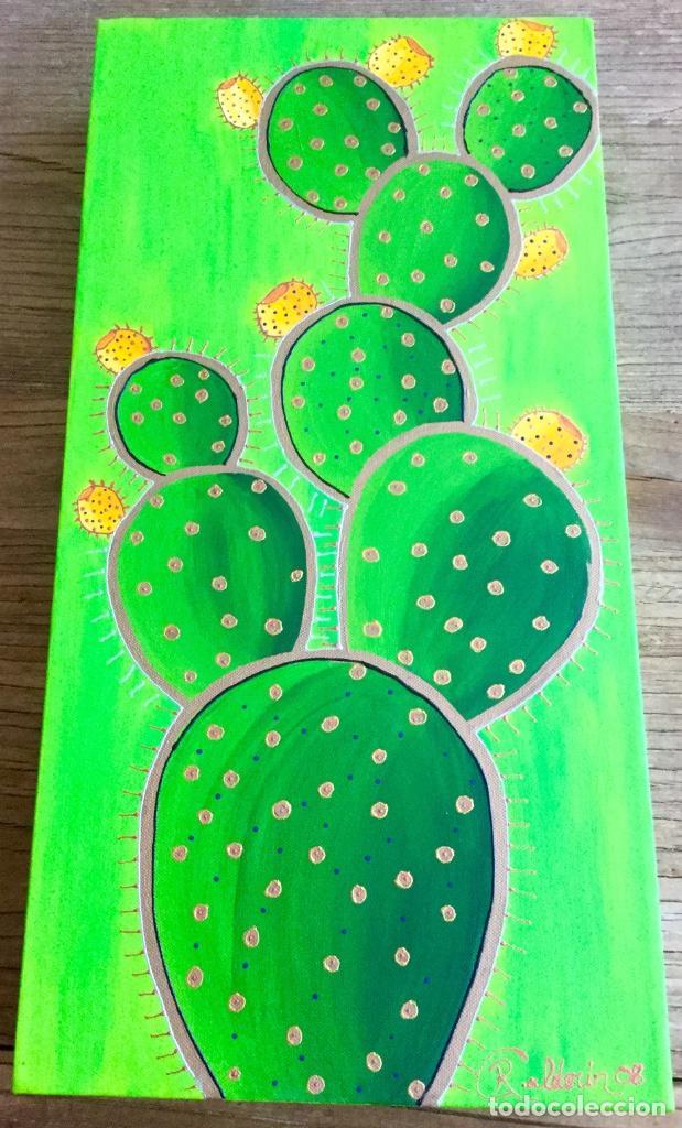 Arte: Pintura acrílica Tuneras y Cardones - Foto 3 - 86497884