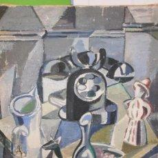 Arte: BODEGÓN CON TELÉFONO - MIGUEL ACQUARONI BONMATI (1925 - 1988) ESCUELA DE MADRID - OLEO SOBRE LIENZO.. Lote 86669276