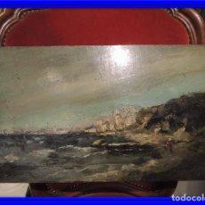 Arte: PINTURA ANTIGUA EN TABLA OLEO. Lote 86690012