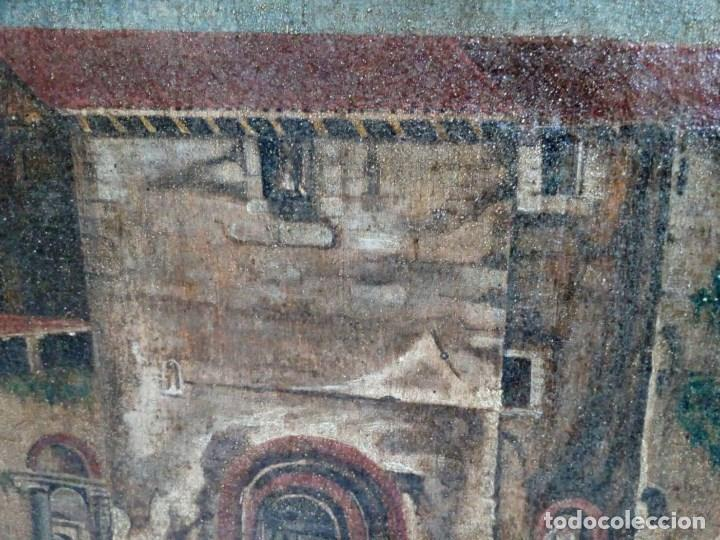 Arte: PAISAJE COSTUMBRISTA SIGLO XVIII, ÓLEO SOBRE LIENZO, ESCENA MARINA, ESCUELA ESPAÑOLA - Foto 11 - 86843164